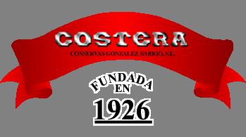 Logo de la conserverie Costera - La Gloria - Conserves de poissons des Asturies - Espagne - Nouvelle Vague é picerie de la pêche à Bordeaux