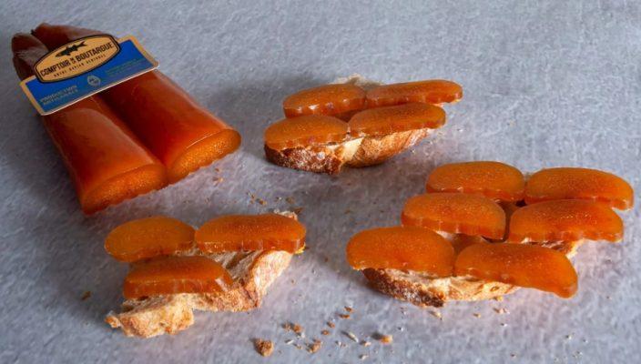 Poutargue de mulet rapée en apéritif - Comptoir de la Poutargue - Corse - Nouvelle Vague l'épicerie de la pêche à Bordeaux
